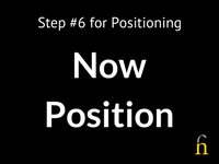 Positioning - Now Position