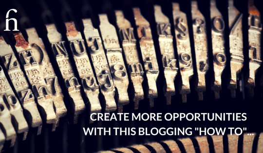 Blogging How To