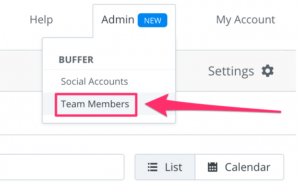 add team members with buffer