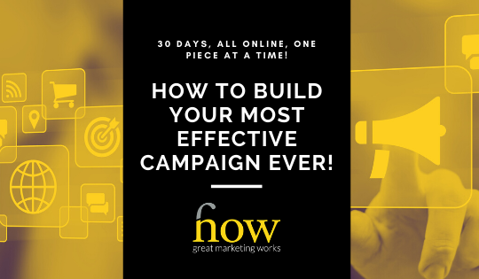 30 Day Marketing Campaign Builder