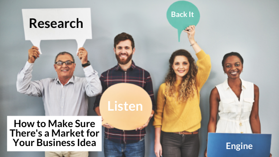 market research, listen to customers